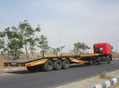 Chassis Carrier - 3 Axle